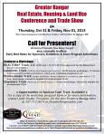 Bangor Housing Conference - Call for Presenters
