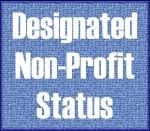 Designated Non Profit Status Logo